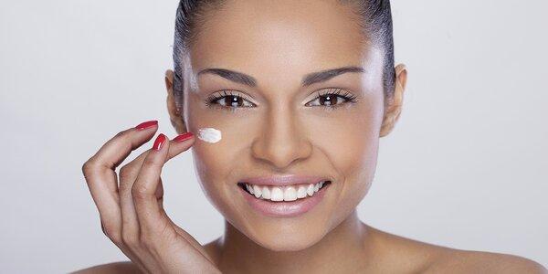 Kosmetické ošetření vč. úpravy obočí a masáží