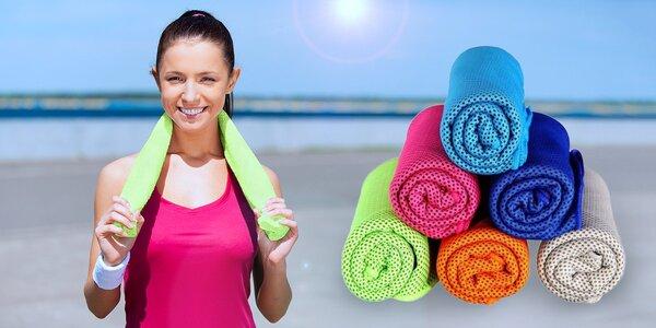 Chladicí ručník – mrazivé osvěžení v parném létě