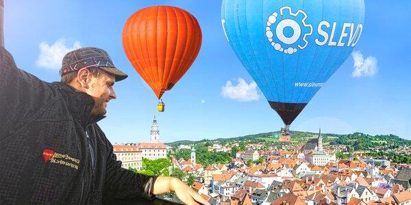 Vzhůru do nebe: let horkovzdušným balónem