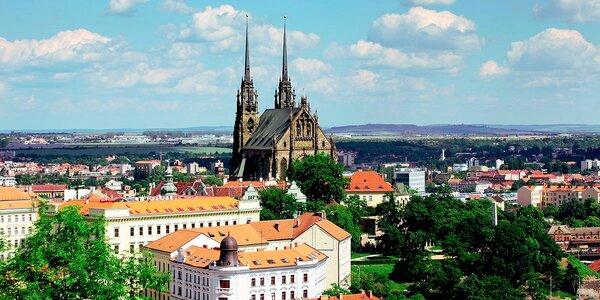 Pohodička v centru Brna se vstupem na Špilberk