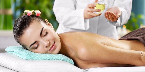 Uvolňující masáž, tělový zábal a koupel nohou