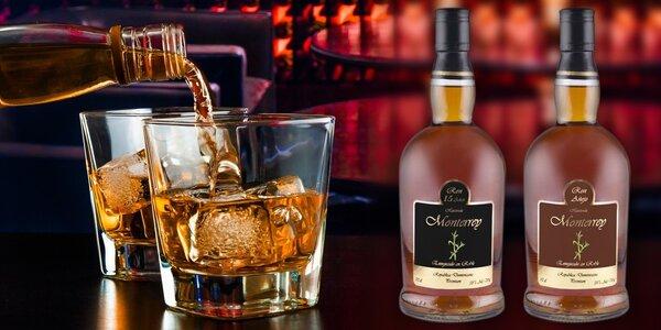 Výběr lahodných rumů Ron Hacienda Monterrey