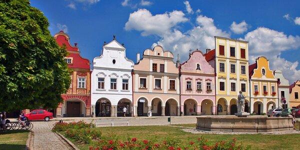 Podzimní romantika v nádherném městě Telč