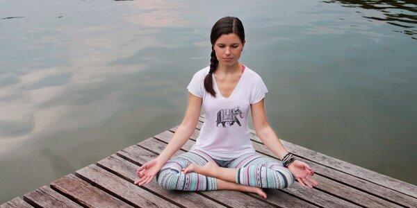 1 nebo 3 ekce jógy ve studiu yogAlive