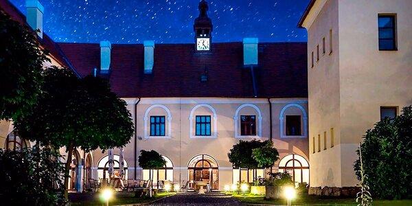 3 dny s luxusní polopenzí na Zámku Čechtice