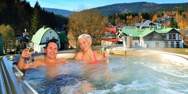 Luxusní wellness pobyt ve Špindlerově Mlýně