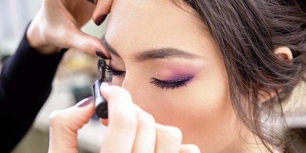 Individuální kurz líčení – triky pro váš obličej