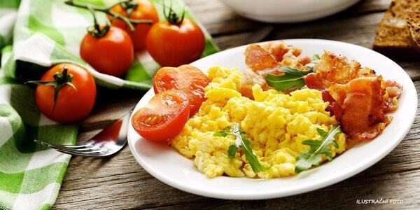 Vydatná snídaně v centru Brna dle výběru