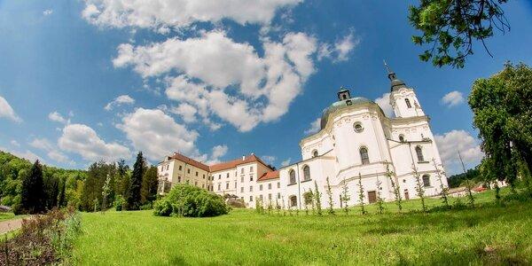 Romantika pro dva na zámku Křtiny