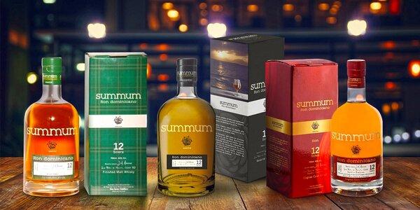 Delikátní exotické rumy Summum ve variantě 12Y