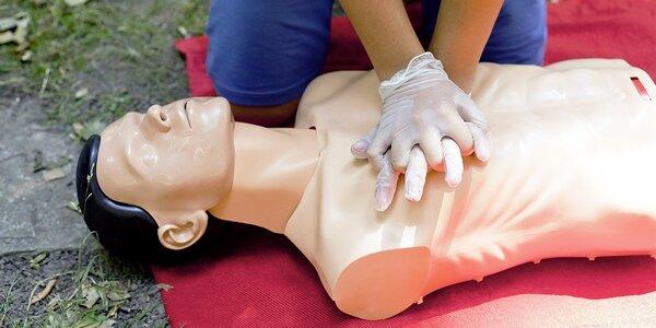 8hodinový kurz první pomoci pro veřejnost