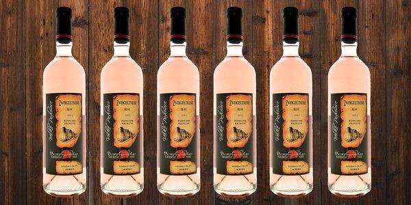 Skvělá růžová vína z Velkých Pavlovic