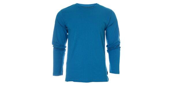 Pánské zářivě modré tričko Fruit of the Loom