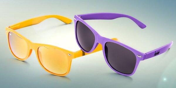 Jednobarevné sluneční brýle Wayfarer