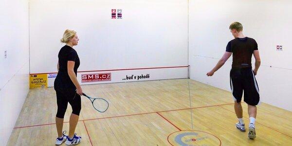 Měsíční permanentka na squash nebo ricochet