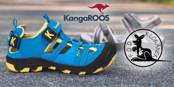 Dětské sandálky KangaROOS na podporu Klokánků