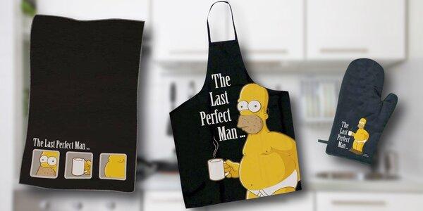 Kuchařský set pro dospělé s Homerem Simpsonem