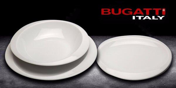 Sada 3 porcelánových talířů Cassa Bugatti