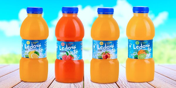 5 báječných ledových čajů a pomerančová šťáva