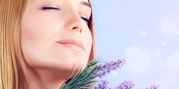 Ošetření pleti spolu s masáží obličeje