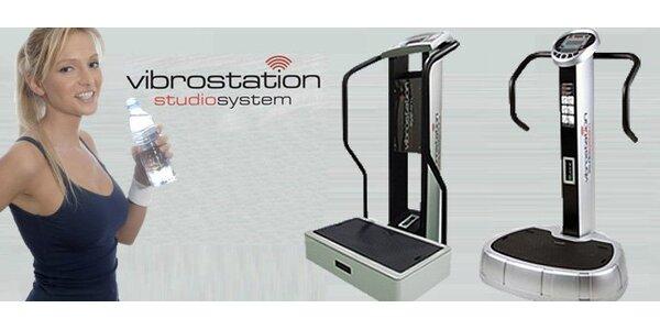 250 Kč za 5 cvičení na moderním přístroji Vibrostation.