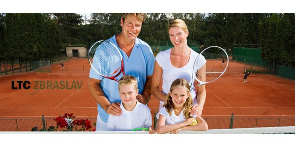 5denní letní tenisový kemp pro děti od 4 do 15 let