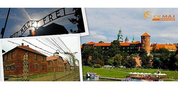Celodenní poznávací zájezd do Osvětimi a Krakowa