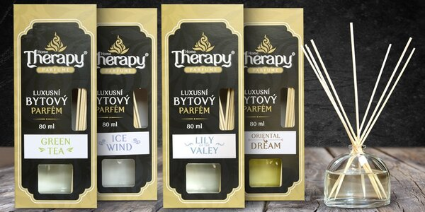 Parfémové bytové difuzéry Home Therapy