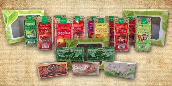 Letní set čajů - osvěžující, ozdravný a cestovní