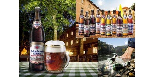 Klášterní piva Weltenburger s téměř tisíciletou tradicí