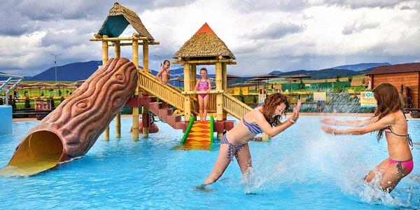 Celodenní vstup do aquaparku Tatralandia