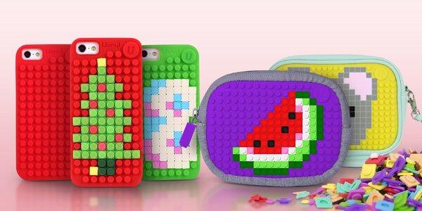 Pixelové tašky a pouzdra pro kreativní duše