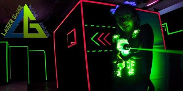 Akční lasergamová střílečka až pro 10 hráčů