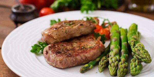 Chřestová sezóna: Skvělý krém a telecí steak