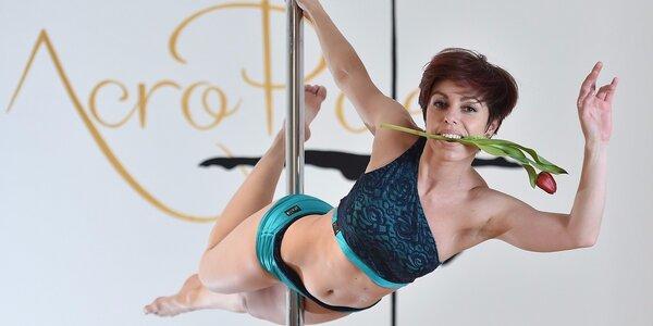 Naučte se pole dance ve Studiu Acropole