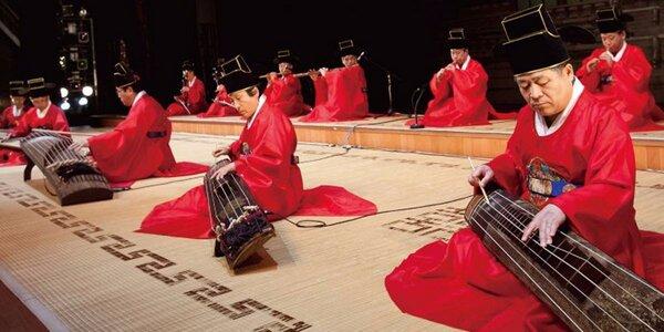 Koncert klasické korejské hudby v Rudolfinu