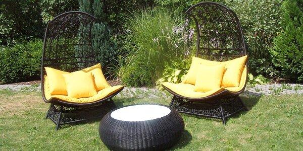 Luxusní ratanové posezení na zahradu i domů