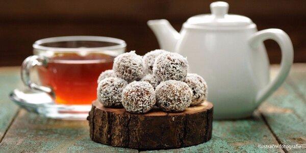 Zdravé dezerty a lahodný bylinkový čaj pro dva
