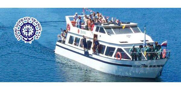 Vyhlídková plavba po Vranovské přehradě (květen)