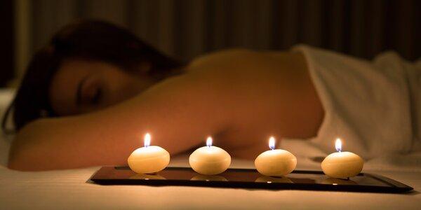 Tantrická nebo kašmírská masáž