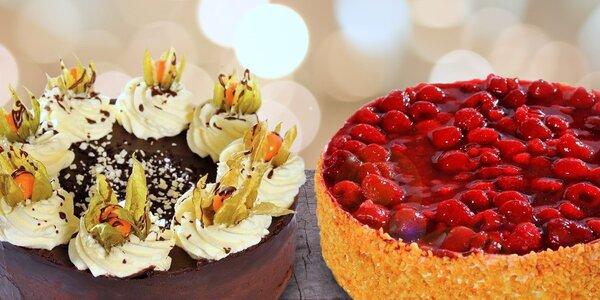 Ovocné i smetanové dorty ze Zelenkovy cukrárny