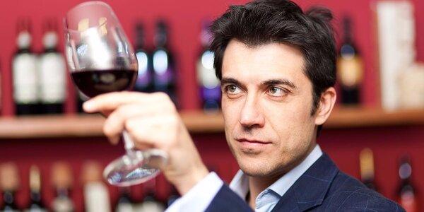 Balíček exkluzivních vín včetně degustace s výkladem