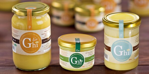 Přepuštěné máslo Ghí od českého výrobce