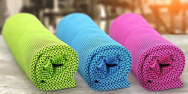 Chladicí ručníky na osvěžení v letních dnech