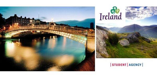 Zpáteční letenka do irského Dublinu za pouhých 1990 Kč!