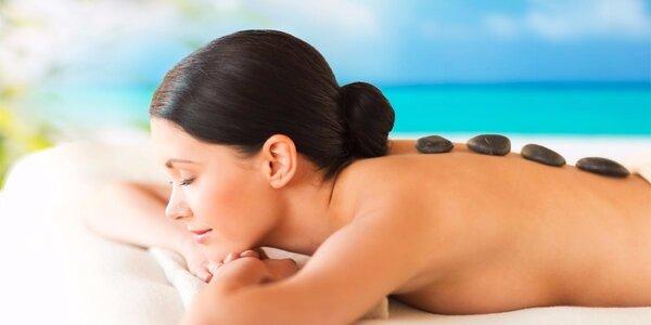 45minutová masáž mramorovými kameny