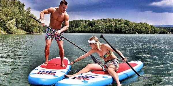 Vodní jízda: Pronájem nafukovacího paddleboardu