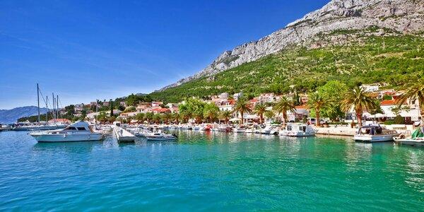 Týdenní relax u moře v Chorvatsku