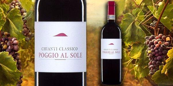 Italské červené Chianti Classico DOCG 2012