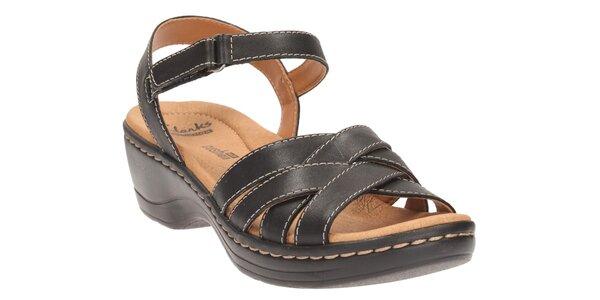 Hayla Pier Black Leather